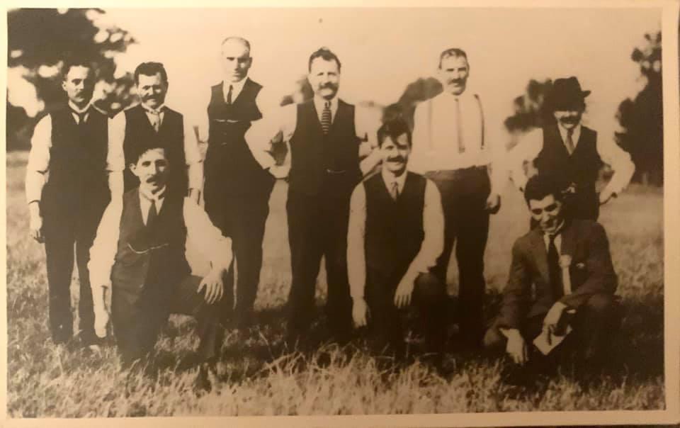 First Lefcadian Brotherhood Committee taken at the Brotherhood Picnic